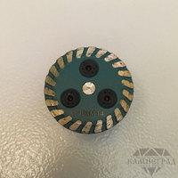 Алмазный диск по граниту с фланцем М14, Ø=40 мм