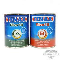 Клей эпоксидный Tenax Rivo-15 Nero (черный/густой) 1,0+1,0 л
