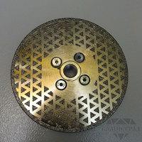 Алмазный диск по мрамору с фланцем М14, Ø=125 мм