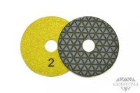 АГШК по сухому, Ø=100 мм, №2 (треугольники)