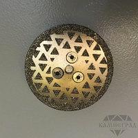 Алмазный диск по мрамору с фланцем М14, Ø=65 мм