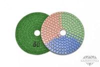 АГШК по мокрому, Ø=100 мм, №50 (трехцветные)