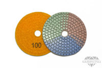 АГШК по мокрому, Ø=100 мм, №100 (трехцветные)