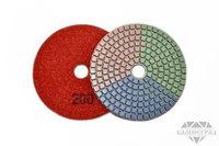 АГШК по мокрому, Ø=100 мм, №200 (трехцветные)