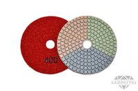 АГШК по мокрому, Ø=100 мм, №400 (трехцветные)
