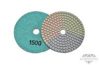 АГШК по мокрому, Ø=100 мм, №1500 (трехцветные)